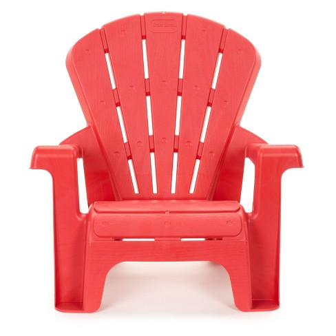 Little Tikes Garden Outdoor Portable Chair - Red - image 1 of 4