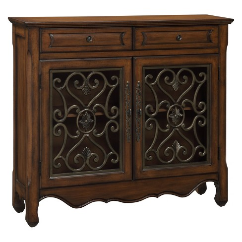 Christopher Knight Home Hollin Storage Cabinet Brown - image 1 of 2