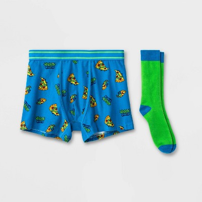 Men's Toy Story Boxer Briefs - Blue/Green