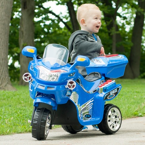 Lil' Rider 3 Wheel Battery Powered FX Sport Bike - Blue - image 1 of 3