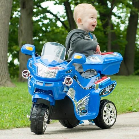 Lil' Rider 3 Wheel Battery Powered FX Sport Bike - Blue - image 1 of 3