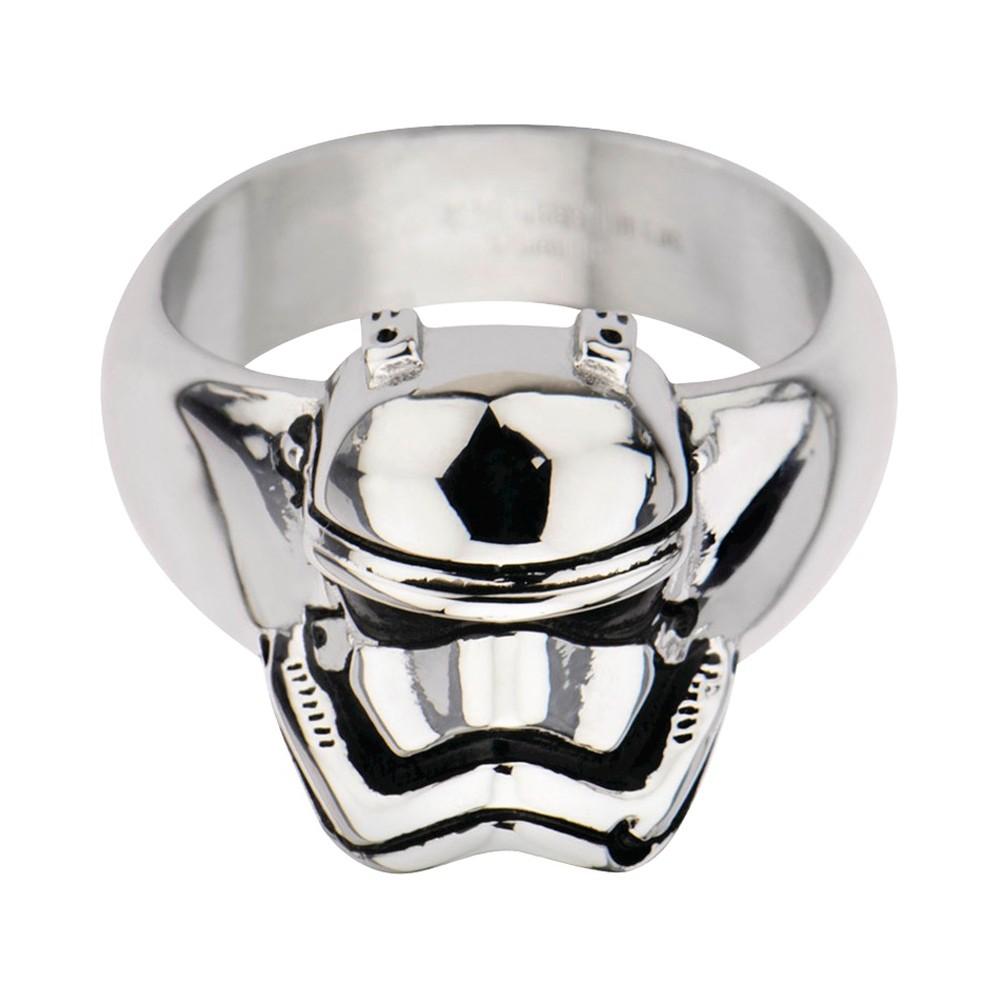 Men's Star Wars Stormtrooper Stainless Steel 3D Ring, Size: 12