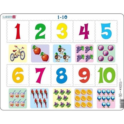 Larsen Puzzles Learning Subtraction Children/'s Educational Jigsaw Puzzle 58