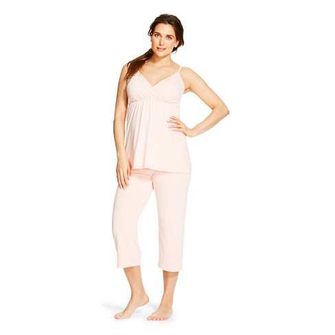 Eve Alexander  Maternity Pajama Set - image 1 of 3
