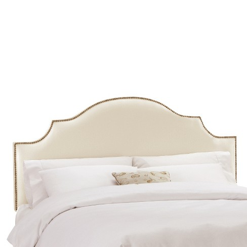 Nail Button Notched Headboard - Threshold™ - image 1 of 2