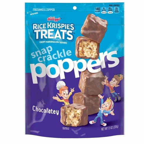 Rice Krispies Treats Chocolatey Poppers Marshmallow Squares - 7.1oz - image 1 of 4