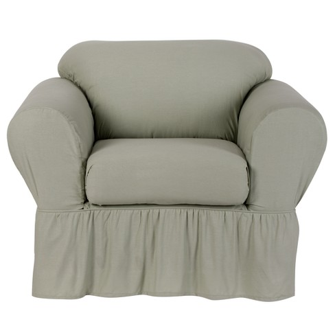 Cotton Duck Chair Slipcover Simply Shabby Chic Target