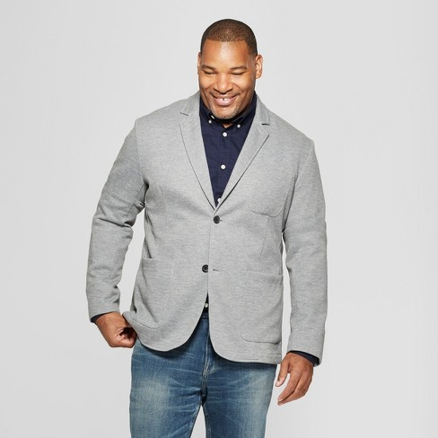 Men's Big & Tall Knit Blazer - Goodfellow & Co™ - image 1 of 3