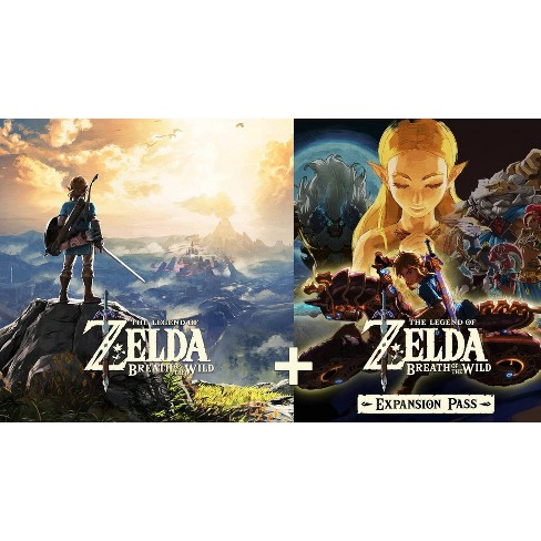 The Legend of Zelda: Breath of the Wild + Expansion Pass Bundle - Nintendo Switch (Digital) - image 1 of 4
