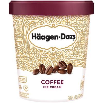 Haagen Dazs Coffee Ice Cream - 28oz