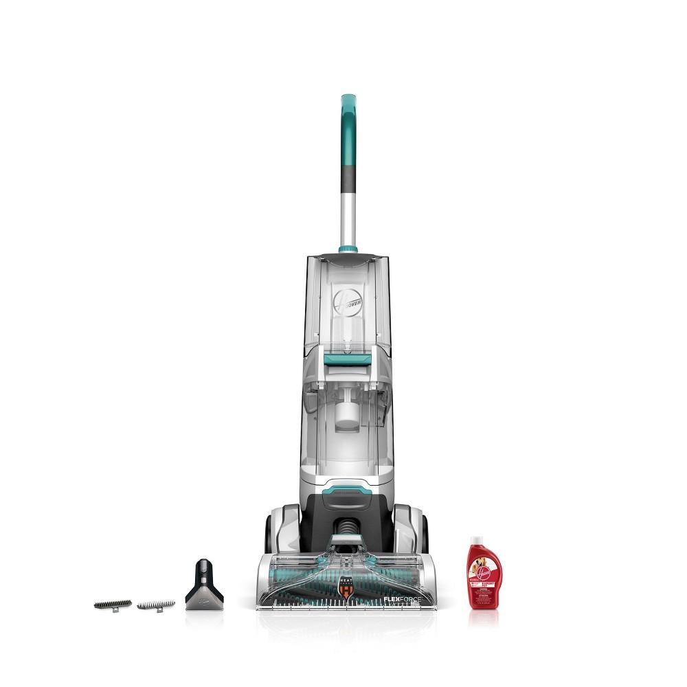 Hoover SmartWash Upright Carpet Cleaner, White/Blue