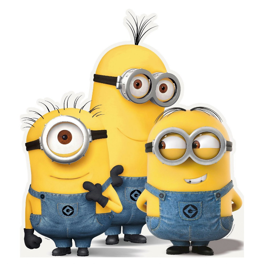 Image of Minions Group Stand Up, party decorations and accessories
