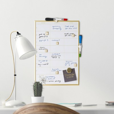 Dry Erase Presentation Board with Accessories - UBrands