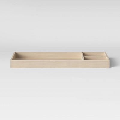 Babyletto Universal Wide Removable Changing Tray - Washed Natural