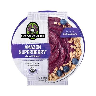 Sambazon Frozen Superberry Acai Bowl - 6.1oz