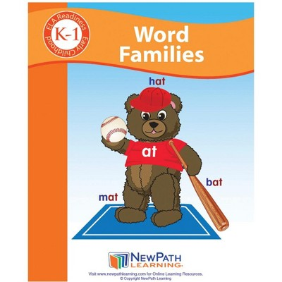 Newpath Learning Word Families Student Activity Guide, Grade K to 1