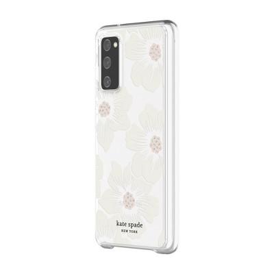Kate Spade New York Samsung Galaxy S20 FE 5G Phone Case Hollyhock Floral - Cream/Clear