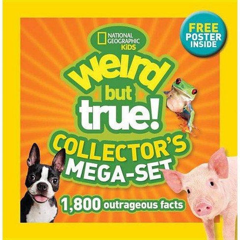 Weird But True! Collector's Mega-Set - (Paperback) - image 1 of 1