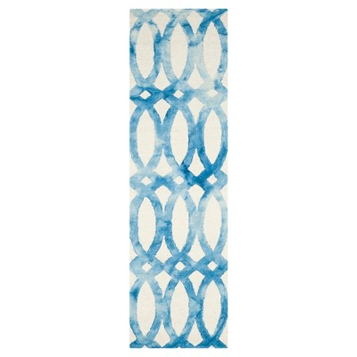 "Adney Area Rug - Ivory/Blue (2'3""x6')- Safavieh"