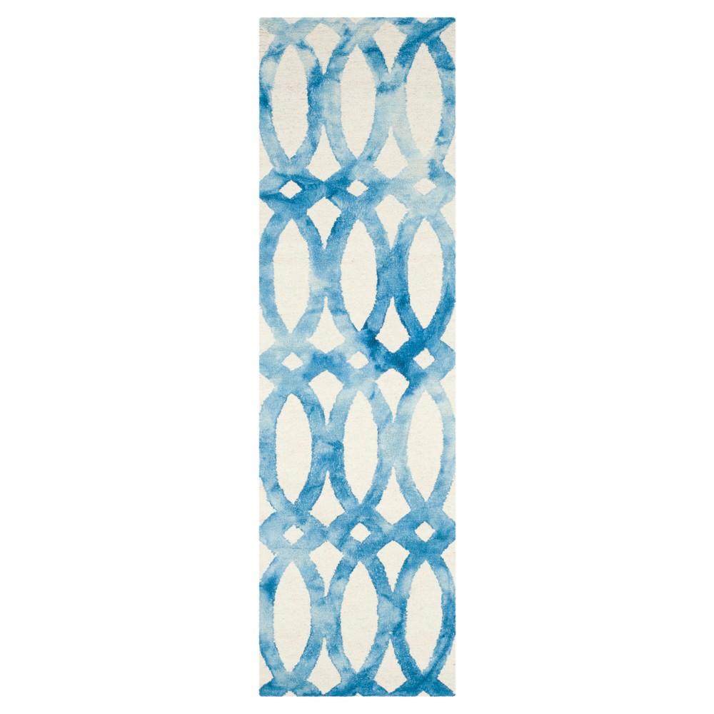Adney Area Rug - Ivory/Blue (2'3x6') - Safavieh