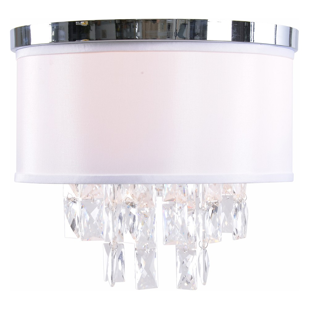 Ophelia 2 Light Flush Mount Ceiling Lights - Kenroy Home, Multi-Colored