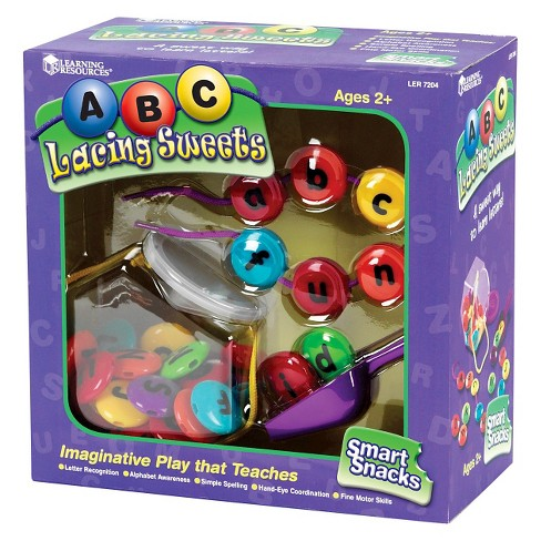 Learning Resources Smart Snacks ABC Lacing Sweets - image 1 of 5