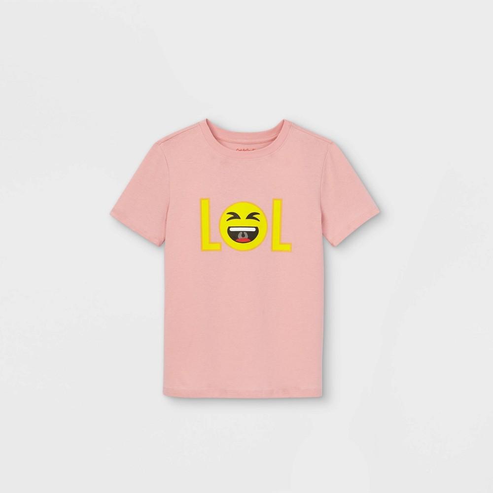 Boys 39 Short Sleeve Lol Emoji Graphic T Shirt Cat 38 Jack 8482 Pink Xxl