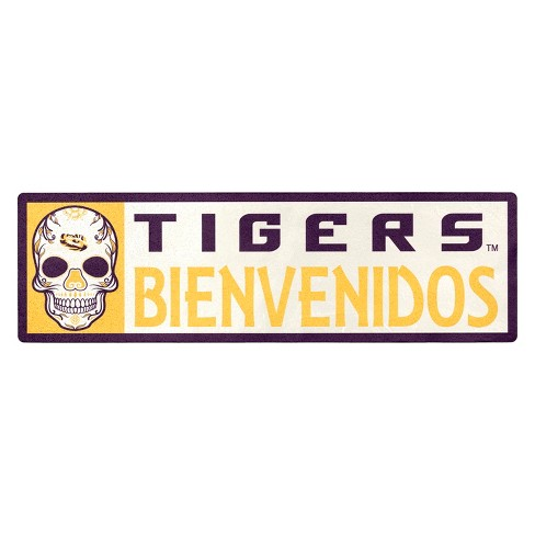 NCAA LSU Tigers Outdoor Bienvenidos Step Decal - image 1 of 1