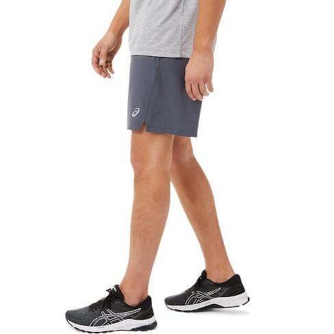 ASICS Men's 7In 2 In 1 Short Running Clothes, M, Grey