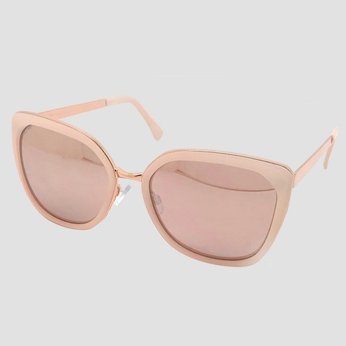 Women s Square Sunglasses - A New Day™ Rose Gold   Target 65d229b8c0