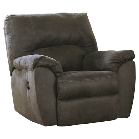 Tambo Rocker Recliner Pewter - Signature Design by Ashley - image 1 of 4