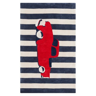 Truck Accent Rug (2'x3')- Red