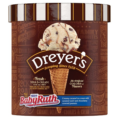Dreyer's™ Slow Churned Light America's Favorite California Baby Ruth Ice Cream 1.5 qt - image 1 of 2