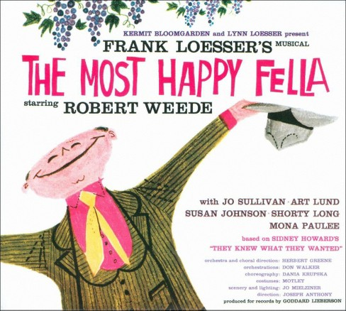 Original cast - Most happy fella (Ocr) (CD) - image 1 of 2