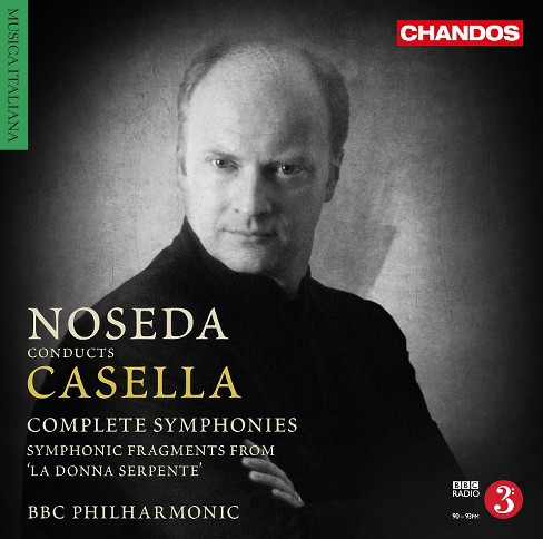 Bbc philharmonic - Casella:Complete symphonies (CD) - image 1 of 1