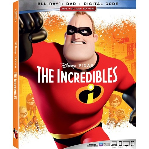 The Incredibles (Blu-Ray + DVD + Digital) - image 1 of 1
