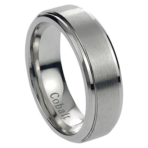 Men's Fashion Anniversary Ring Silver - Silver - image 1 of 3