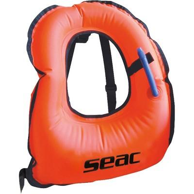 Seac Snorkeling Vest w/ Oral Inflation Valve & Manual Air Dump