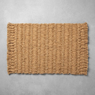 Oversized Braided Coir Doormat - Hearth & Hand™ with Magnolia