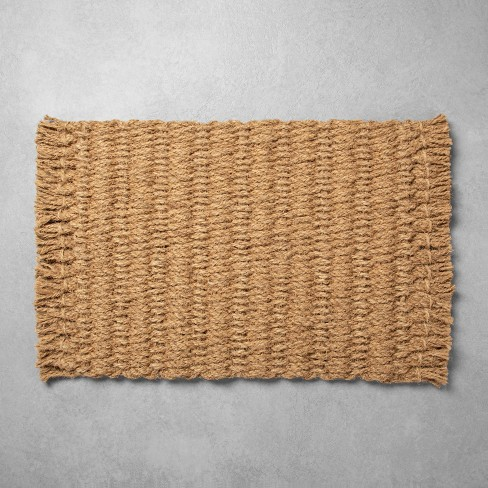 Oversized Braided Coir Doormat - Hearth & Hand™ with Magnolia - image 1 of 3