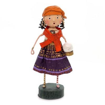 "Lori Mitchell 6.25"" Gypsy Rose Fortune Teller Halloween  -  Decorative Figurines"