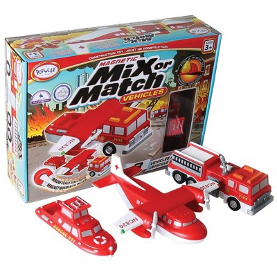Popular Playthings Mix or Match: Rescue Vehicle Set