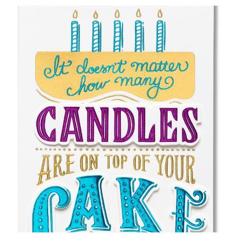 Papyrus Cake Birthday Card Target