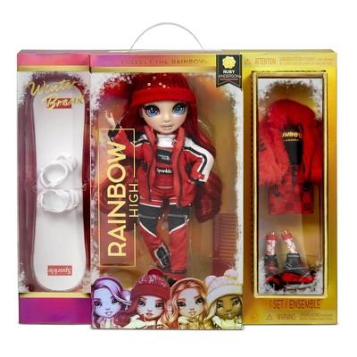 Rainbow High Winter Break Ruby Anderson Fashion Doll