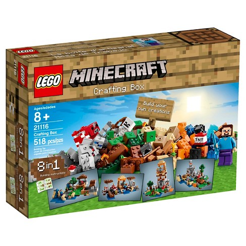 LEGO® Minecraft Creative Adventures Crafting Box 21116 - image 1 of 17