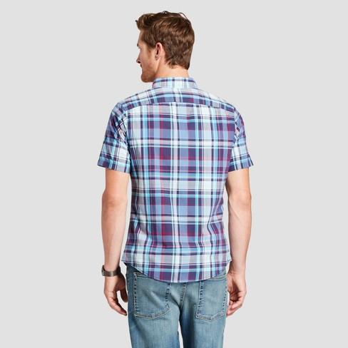 1806c935e16 Men's Short Sleeve Poplin Button-Down Shirt - Goodfellow & Co™