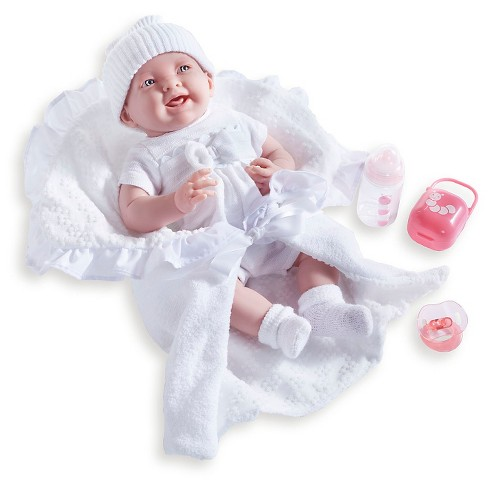 "JC Toys La Newborn 15.5"" Soft Body Baby Doll - White Deluxe Boutique Gift Set - image 1 of 2"