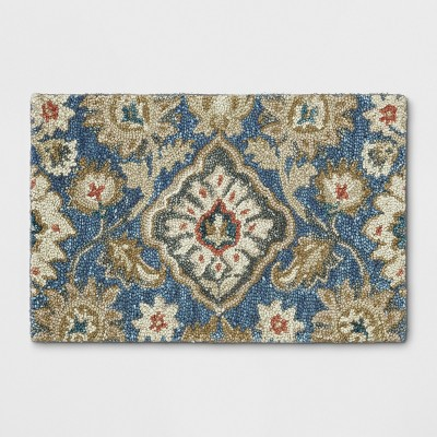 Jacobean Floral Tufted Rug - Threshold™