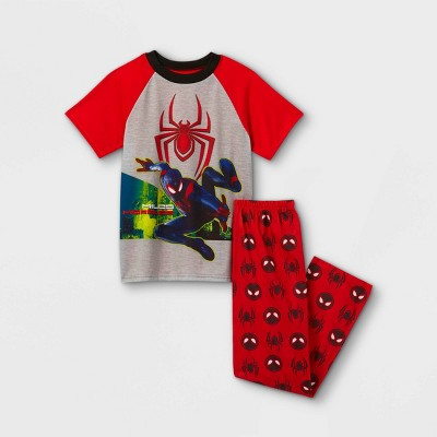 Boys' Marvel Spider-Man 2pc Pajama Set - Red
