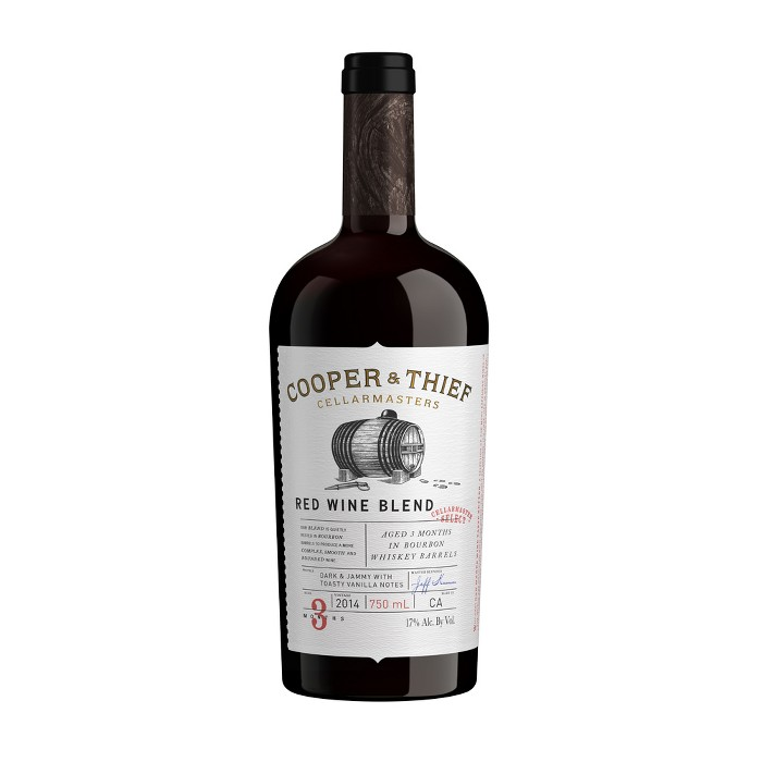 Cooper and Thief Bourbon Barrel Red Blend Red Wine - 750ml Bottle - image 1 of 1